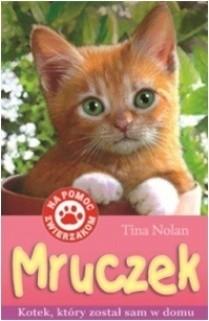 Okładka książki Mruczek. Kotek, który został sam w domu