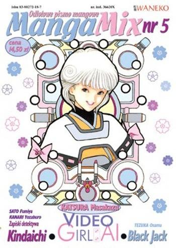 Okładka książki Mangamix nr. 5