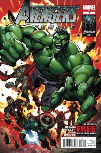 Okładka książki Avengers Assemble #2