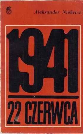 Okładka książki 1941 - 22 czerwca