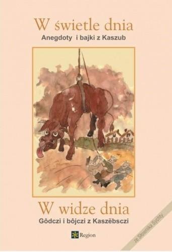 Okładka książki W świetle dnia, anegdoty i bajki z Kaszub, ze słownika Sychty
