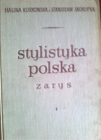 Okładka książki Stylistyka polska, zarys