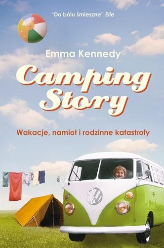Okładka książki Camping Story. Wakacje, namiot i rodzinne katastrofy