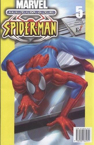 Okładka książki Ultimate Spider-Man 5: Z wielką siłą