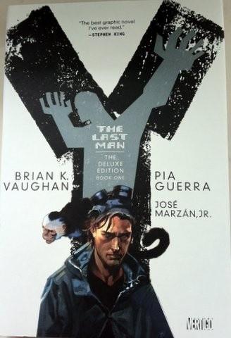 Okładka książki Y: The Last Man Deluxe Edition Book 1
