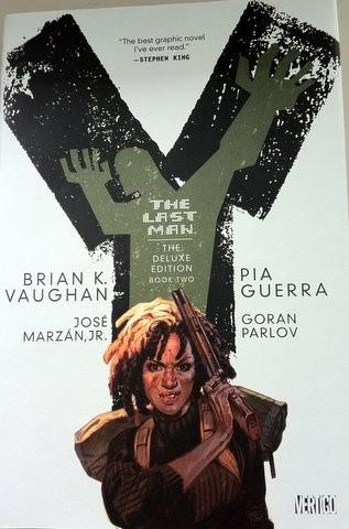 Okładka książki Y: The Last Man Deluxe Edition Book 2