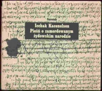 Okładka książki Pieśń o zamordowanym żydowskim narodzie
