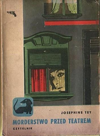 Okładka książki Morderstwo przed teatrem
