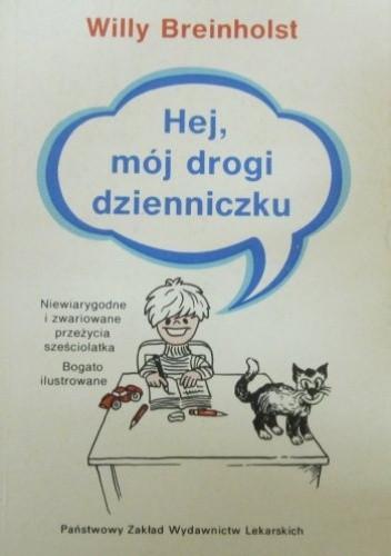 Okładka książki Hej, mój drogi dzienniczku