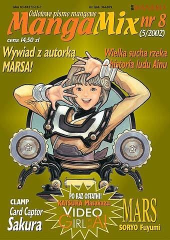 Okładka książki Mangamix nr 08
