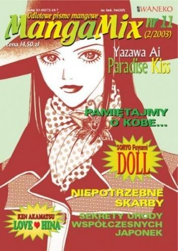 Okładka książki Mangamix nr 11