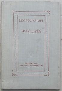 Okładka książki Wiklina