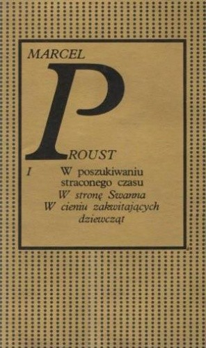 Okładka książki W stronę Swanna. W cieniu zakwitających dziewcząt