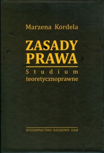 Okładka książki Zasady prawa