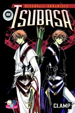 Okładka książki Tsubasa 22