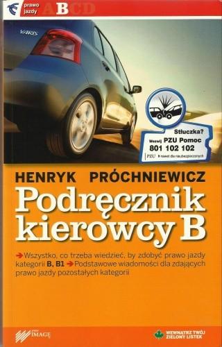 Okładka książki Podręcznik kierowcy B
