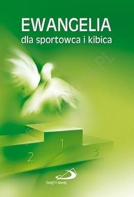 Okładka książki Ewangelia dla sportowca i kibica