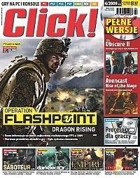 Okładka książki Click! 4/2009