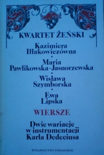Okładka książki Kwartet żeński