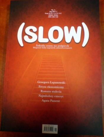 Okładka książki (SLOW) No. 1 / maj 2012