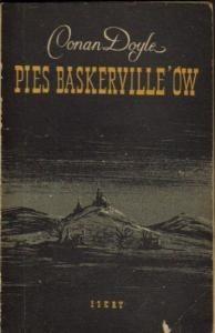 Okładka książki Pies Baskerville'ów