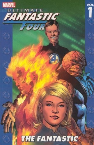 Okładka książki Ultimate Fantastic Four Vol. 1: The Fantastic