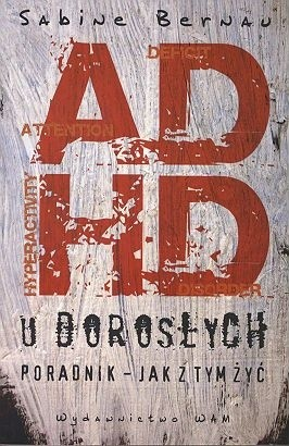 Okładka książki ADHD u dorosłych