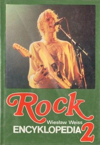 Okładka książki Rock. Encyklopedia, t. 2