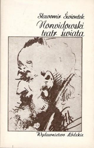Okładka książki Norwidowski teatr świata