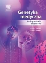 Okładka książki Genetyka medyczna. Podręcznik dla studentów