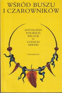 Okładka książki Wśród buszu i czarowników: antologia polskich relacji o ludach Afryki