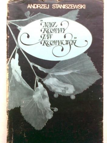 Okładka książki Nasz kochany Jan Kochanowski
