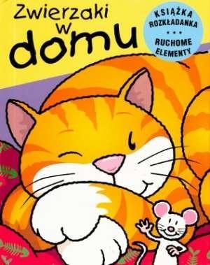 Okładka książki Zwierzaki w domu