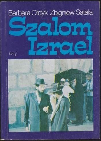 Okładka książki Szalom Izrael