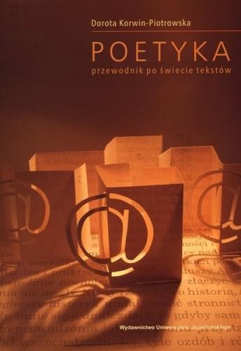 Okładka książki Poetyka. Przewodnik po świecie tekstów