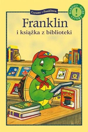 Okładka książki Franklin i książka z biblioteki