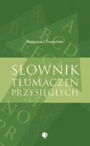 Okładka książki Słownik tłumaczeń przysięgłych