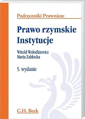 Okładka książki Prawo rzymskie. Instytucje