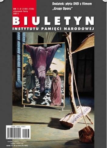 Okładka książki Biuletyn IPN nr 1-2/2011