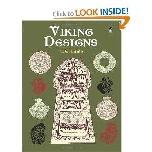 Okładka książki Viking Designs (Dover Pictorial Archive)
