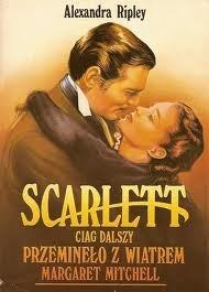 Okładka książki Scarlett. Ciąg dalszy Przeminęło z wiatrem Margaret Mitchell