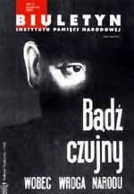 Okładka książki Biuletyn IPN nr 11/2001