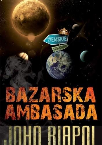 Okładka książki Bazarska ambasada