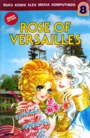 Okładka książki The Rose of Versailles Vol. 8