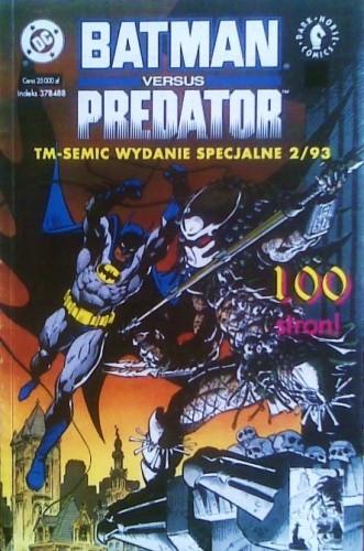 Okładka książki Batman versus Predator