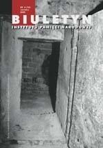 Okładka książki Biuletyn IPN nr 6 (17)/2002
