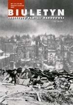 Okładka książki Biuletyn IPN nr 8-9 (19-20)/2002