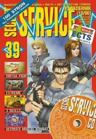 Okładka książki Secret Service 39 (październik 1996)