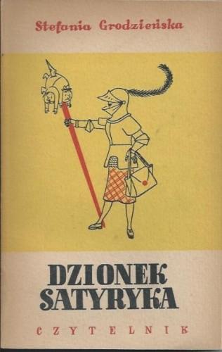 Okładka książki Dzionek satyryka