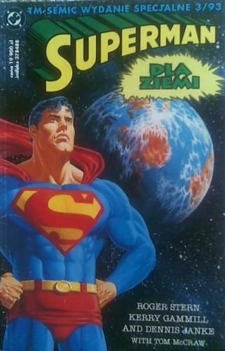 Okładka książki Superman: Dla Ziemi